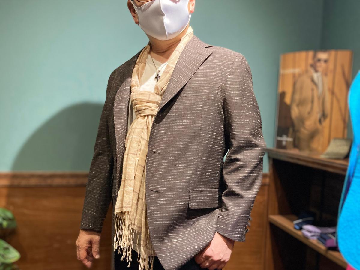 オーダースーツ重太郎ジャケット制作事例